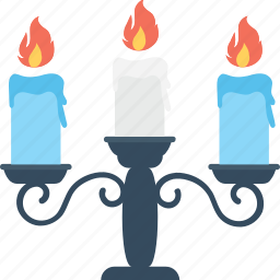burning candle, candle, candle light, halloween candle, scary icon