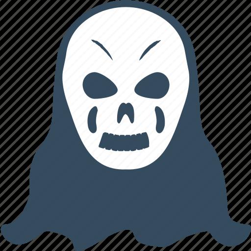 devil, evil, ghost, grim, scary icon