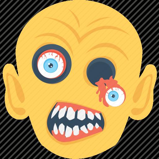 devil, dreadful, fear, scary, spooky icon