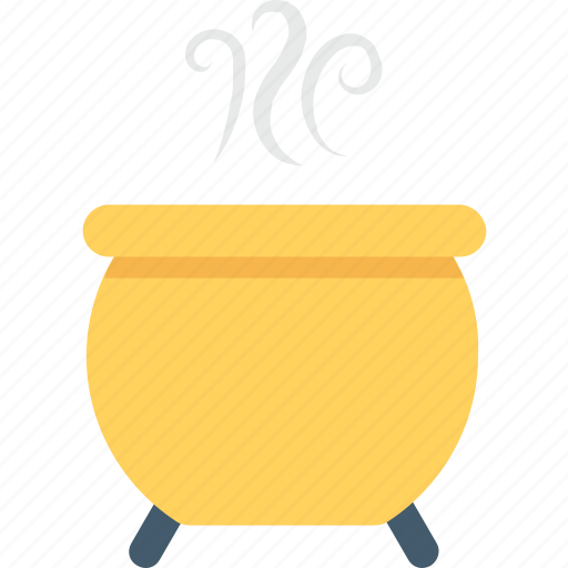 frightening, halloween cauldron, halloween cookpot, halloween pot, spooky icon