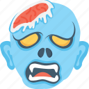 dreadful, halloween, halloween mask, monster, scary face icon