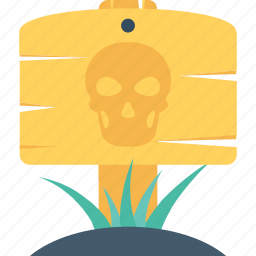ghost grave, grave, halloween, head, skull icon