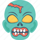 ghost, horror, monster, spooky, zombie icon