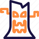 celebration, halloween, holiday, horror, monster, tree, tree moster icon