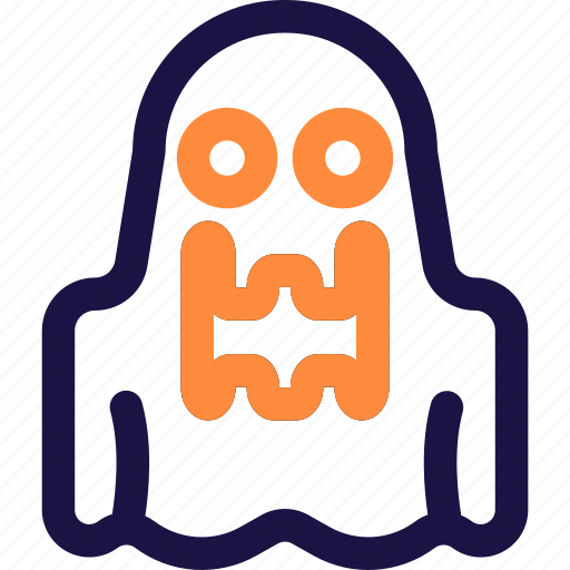 ghost, halloween, holiday, horror, pumpkin, scary, spooky icon