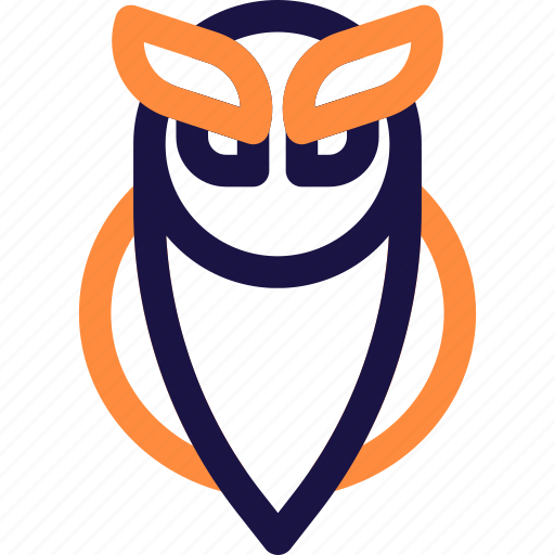 animal, bird, halloween, nature, owl, scary, wild icon