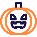 autumn, food, halloween, october, orange, pumpkin, vegetable icon