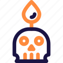 dead, design, halloween, head, human, skeleton, skull icon