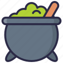 cauldron, experiment, halloween, magic, witch icon