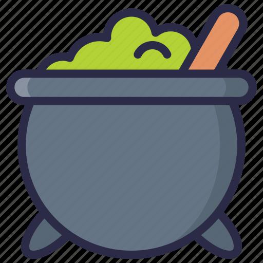 cauldron, experiment, halloween, magic, witch icon
