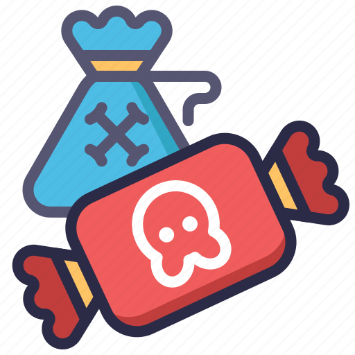 candy, halloween, sweet, trick or treat icon