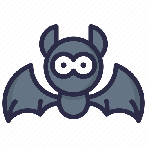 animal, bat, cute, halloween icon