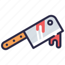 blood, halloween, knife, murder, weapon icon