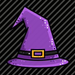 cap, halloween, hat, magic, witch, wizard icon