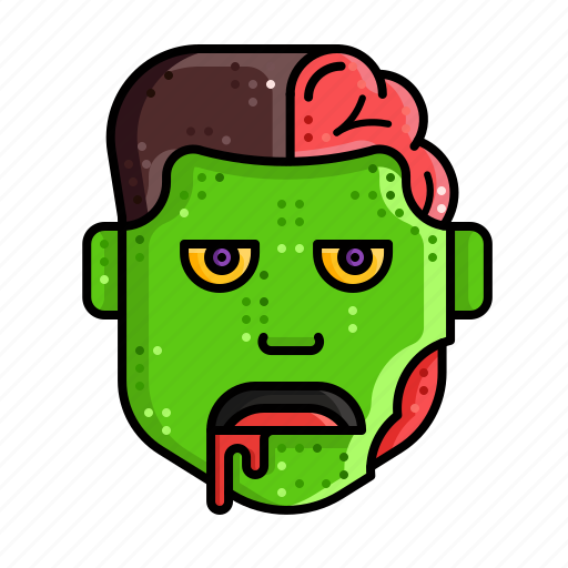 character, halloween, horror, monster, scary, zombie icon