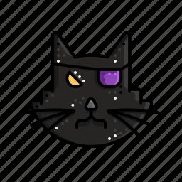 black, cat, evil, halloween, magic, taboo icon