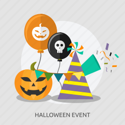 celebrate, event, halloween, happy, hat, horror, pupkin icon
