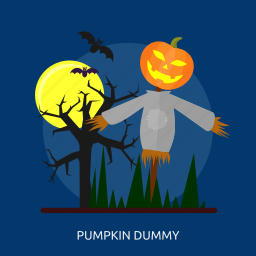 dark, dummy, halloween, moon, pumkin, scary, tree icon