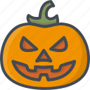 halloween, holiday, pumpkin icon