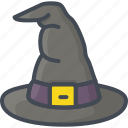 halloween, hat, holiday, witch icon