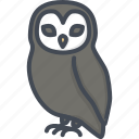 animal, halloween, holiday, owl icon
