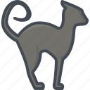 animal, cat, halloween, holiday icon