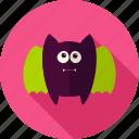 animal, bat, flittermouse, halloween, rattlemouse, scary, vampire icon