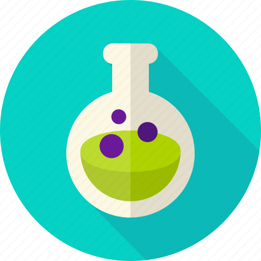 beaker, chemistry, glass, halloween, poison, potion, witch icon