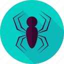 caterpillar, halloween, insect, scary, spider, spinner, spooky icon