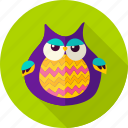 bird, eagle, halloween, night, owl, popgun, screech icon