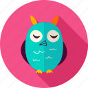 animal, bird, eagle, halloween, owl, owlet, screech icon