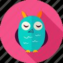 animal, bird, eagle, halloween, owl, owlet, screech icon