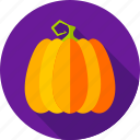 fall, food, halloween, harvest, pumpkin, thanksgiving, vegetable icon