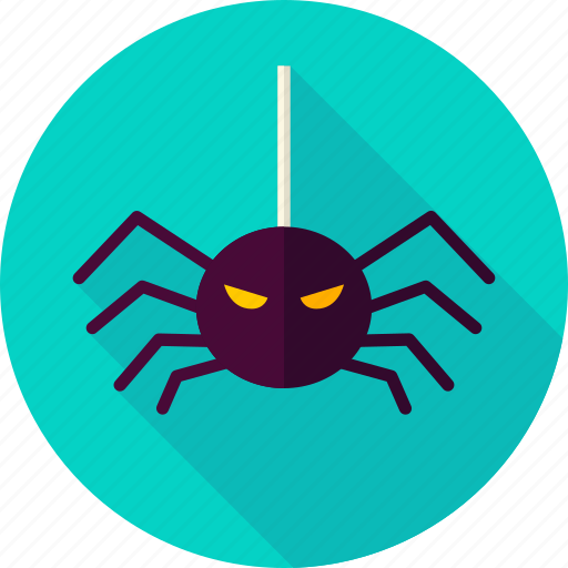 halloween, insect, scary, spider, spiderweb, spinner, spooky icon
