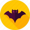 animal, bat, flittermouse, halloween, mouse, rattlemouse, vampire icon