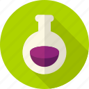 beaker, chemistry, halloween, poison, potion, tube, witch icon