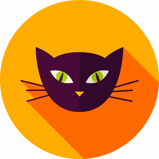 animal, cat, domestical, feline, halloween, undomestical, witch icon