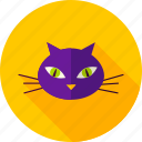 animal, cat, domestic, grapnel, tomcat, undomestic, witch icon
