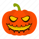 autumn, face, halloween, horror, lantern, october, pumpkin icon