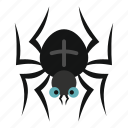 animal, arachnid, blog, danger, halloween, insect, spider icon