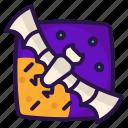 bat, halloween, rearmouse, squeak icon