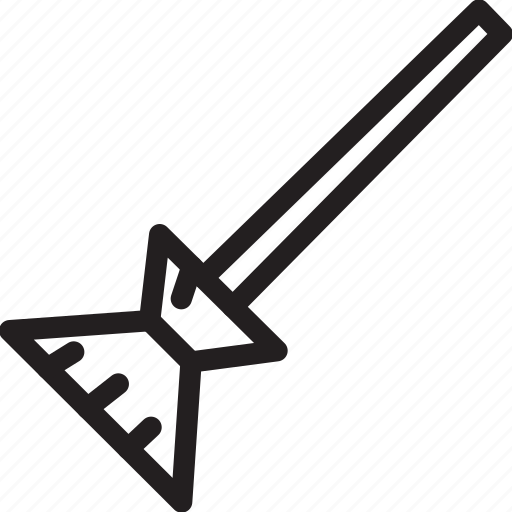broom, halloween icon