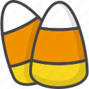 candy, colored, corn, halloween, holidays icon