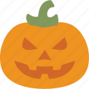 halloween, holidays, pumpkin, vegetable icon