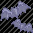 bat, bats, birds icon