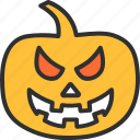 autumn, halloween, holiday, horror, pumpkin, scary icon