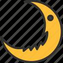 autumn, halloween, holiday, horror, moon, scary, spooky icon