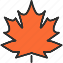 autumn, halloween, holiday, horror, leaf, maple, winter icon