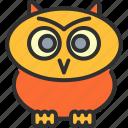autumn, cute, halloween, holiday, horror, mystery, owl icon