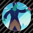 costume, frankenstein, halloween, monster, scary, spooky icon